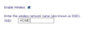 Включение беспроводной сети и ее название